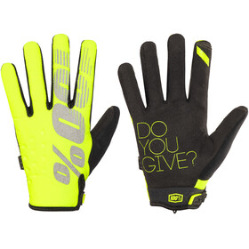 100% Brisker Gloves yellow